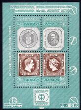 "DENMARK MNH 1975 International Stamps Exhibition ""HAFNIA '76"" - Copenhagen"