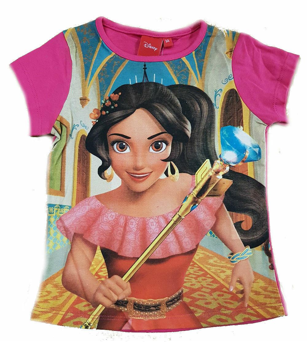 Disney Elena di Avalor Maglietta Maniche Lunghe Ragazze