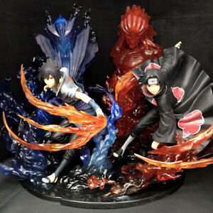 Details About Naruto Figuarts Zero Kizuna Relation Sasuke And Itachi Susanoo Pvc Figure No Box