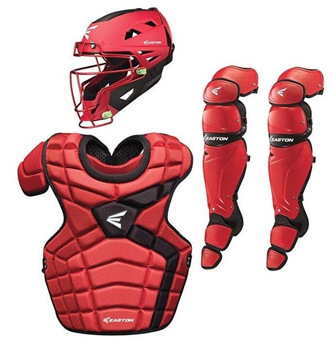 Nuevo Easton Mako béisbol atrapasueños Set-rojo intermedia Nuevo