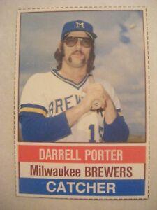 Darrell Porter 1976 Hostess Baseball Card 117 Royals