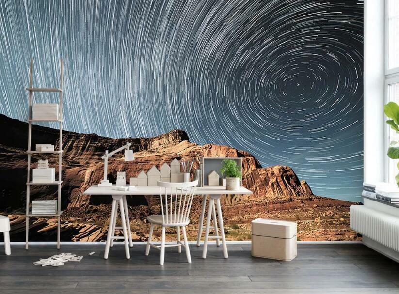 3D Kunst Wirbel M775 Tapete Wandbild Selbstklebend Abnehmbare Aufkleber Amy