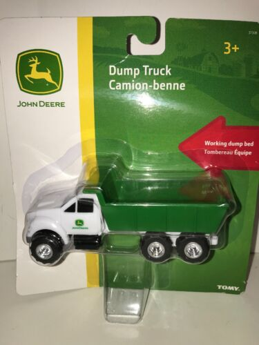 NEW John Deere Dump Truck by TOMY JD Toys Toy Quick Ship  Farm Equipment
