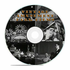VINTAGE AMUSEMENT PARKS, ROLLER COASTERS, ARCADES, BOARDWALK DVD-J01