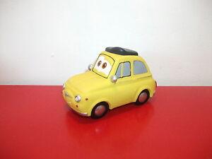 Voiture Cars Jouet 500 Miniature Pixar Film Fiat Sur Bain Détails Luigi Jeu De Disney f76bgy