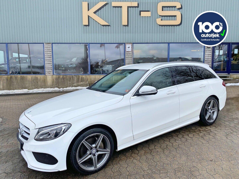 Mercedes C200 d 2,2 AMG Line stc. aut. 5d - 309.900 kr.