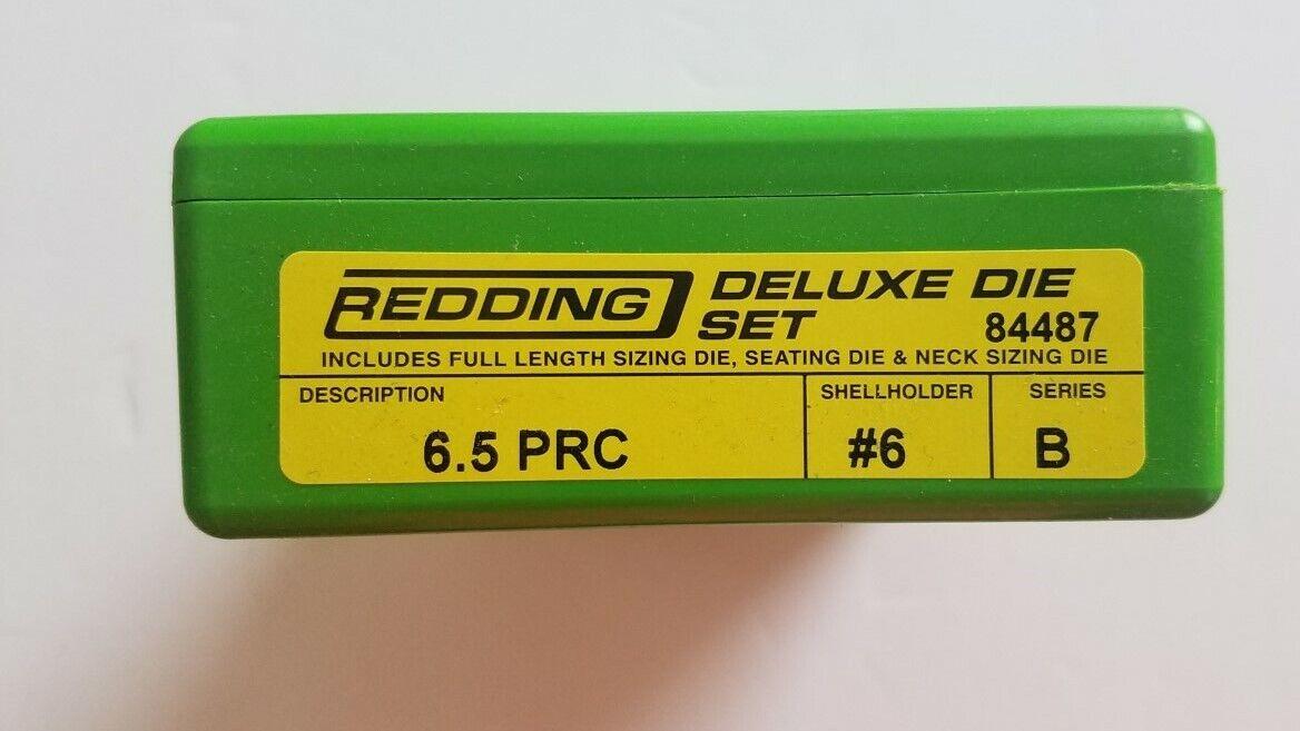 84487 rojoDING 3-DIE toda su longitud cuello Deluxe Die Set - 6.5 PRC-totalmente Nuevo