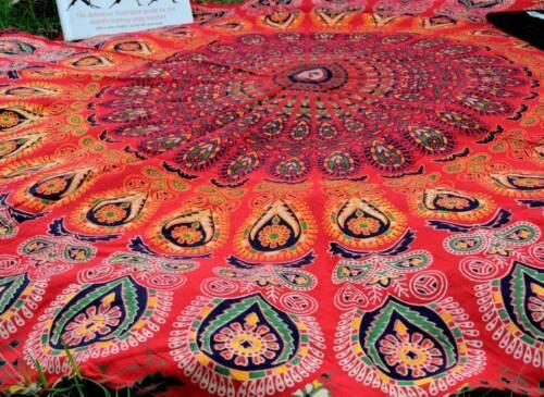 "YOGA MAT 72/"" BEACH THROW CLOTH TABLE COVER DECOR HOME BEDSPREAD COTTON HIPPIE"