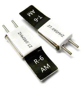 27mhz-AM-Transmitter-and-Radio-RC-Crystal-Set-27-mhz-27-095-TX-amp-RX-Black-Ch-6