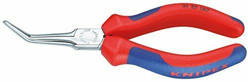 KNIPEX 31 25 160 Flat Nose Pliers (Needle-Nose Pliers) chrome plated