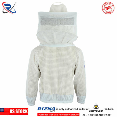 Beekeeper Professional 3 Layer Ultra Ventilated beekeeping jacket Round Veil XL3
