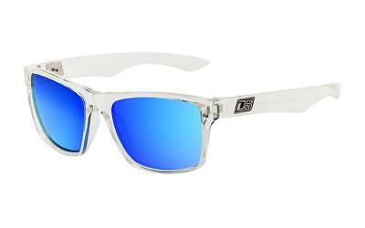 Blue and Clear Red Grey DIRTY DOG VENDETTA  Polarised Sunglasses Crystal Clear