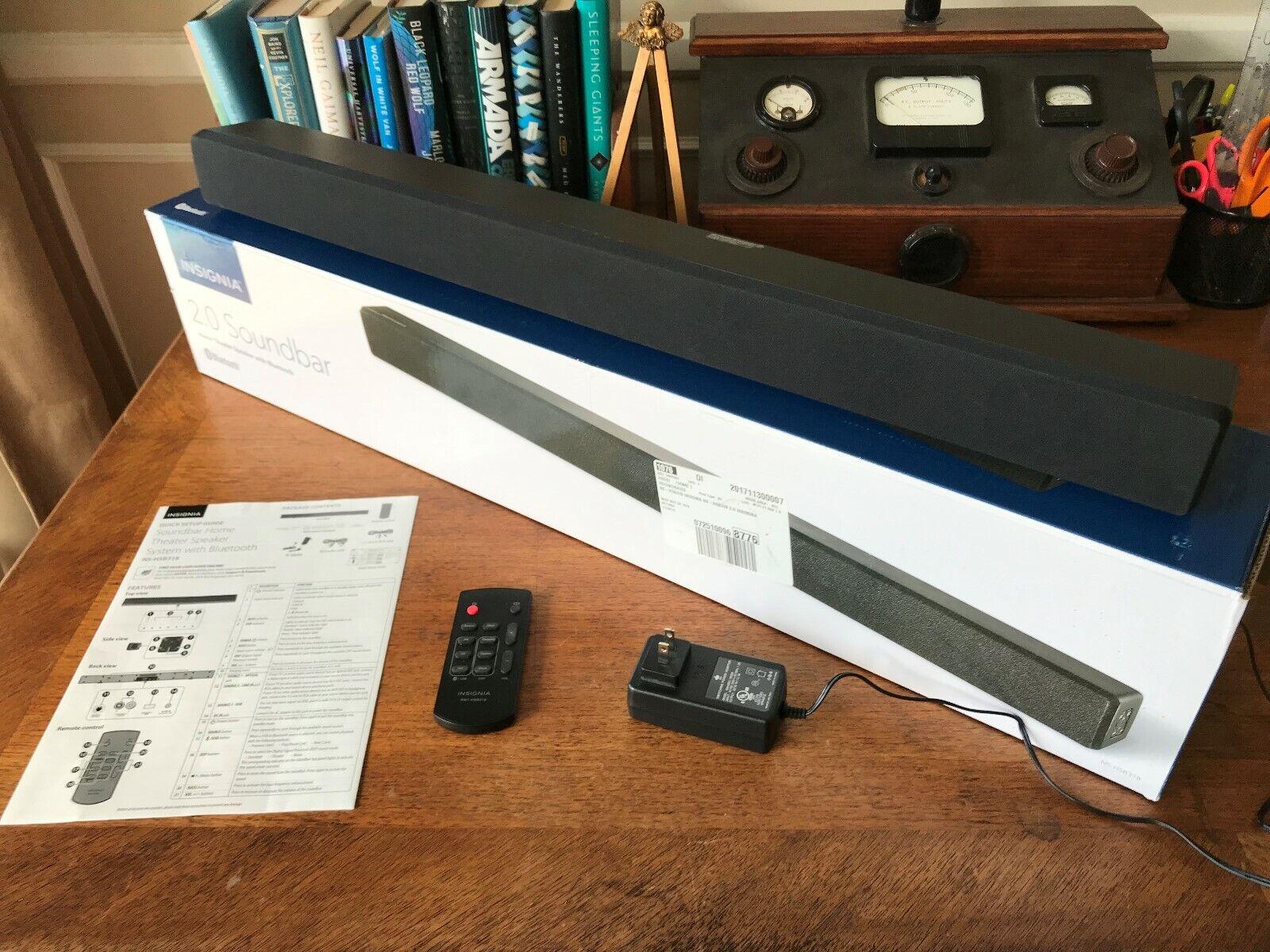 Insignia Soundbar Home Theater System w  blueetooth NS-HSB318