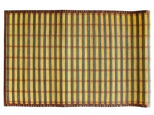 Textiles plus 100 24 x 60 natural bamboo floor mat for 100 floors floor 60