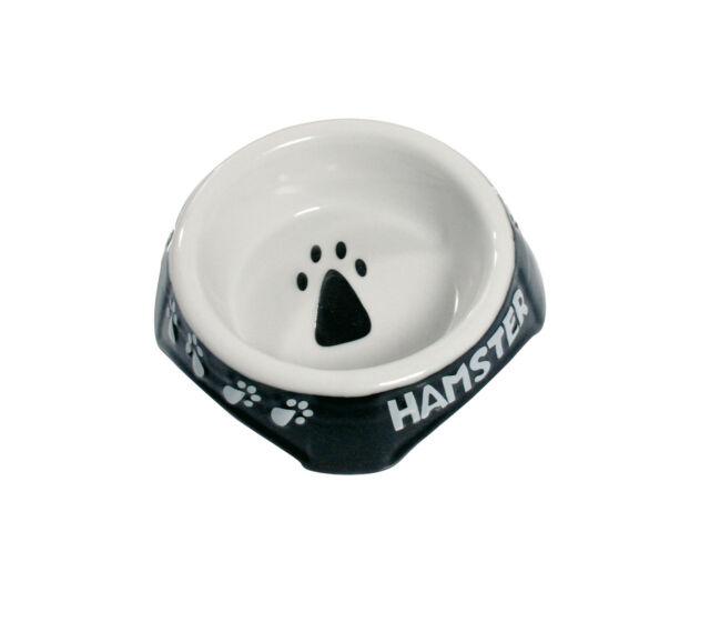 Karlie - Napf Keramik schwarz / weiß für Nager Näpfe Nager 3 schwarz-weiss