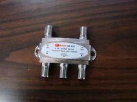 2x Gecen Gd-41c 4 In 1 Satellite Diseqc Switch Fta Sonicview Pansat 950-2400 Mhz