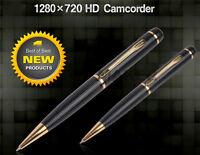 New Professional Mini SPY Pen HD 720p Cam Camera Video USB DVR Recording Hidden