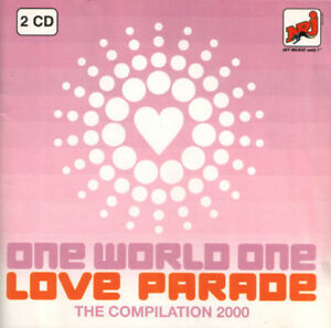 Compilation-2xCD-One-World-One-Love-Parade-The-Compilation-2000-France