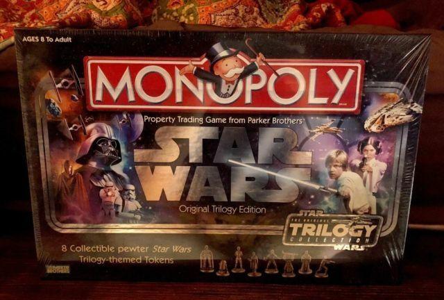 Monopoly Star Wars Original Trilogy Edition For Sale Online Ebay