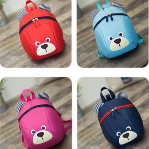Cartoon-Children-Backpacks-kindergarten-Schoolbag-Kids-Girls-Boys-Harness-Strap