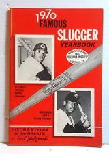 Original 1970 Louisville Slugger Famous Slugger Yearbook- 64 Pages (T-1070)
