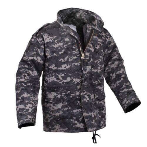 Rothco US m65 Veste Army Parka Field Jacket SUBDUED URBAN DIGITAL Camouflage XL