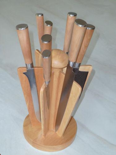Grand set de couteaux de damassé-Damas Acier-Nouveau