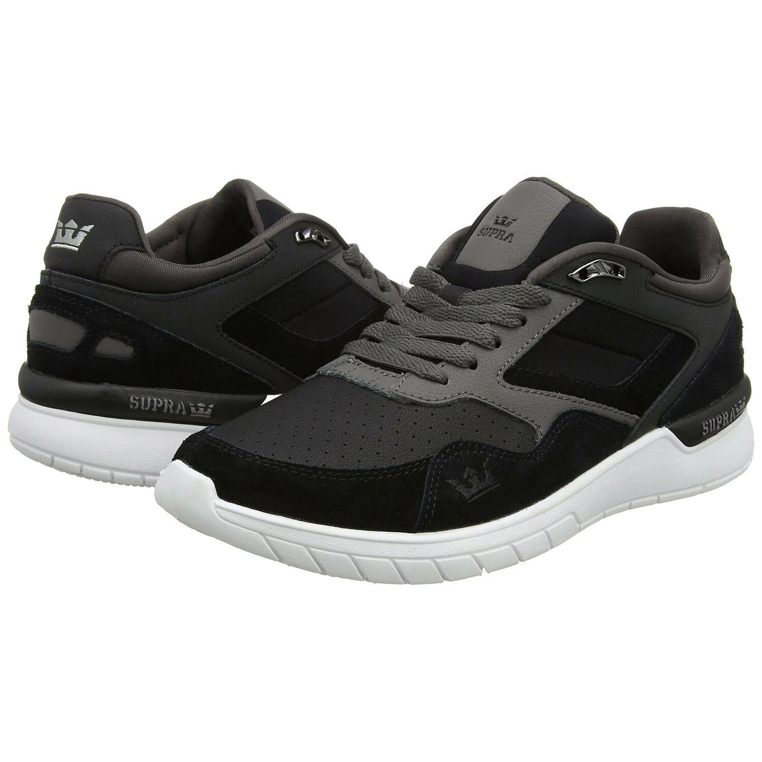 SUPRA Winslow Men  Black   Charcoal   White 08332-025