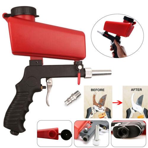 Anti-Rost Handheld Air Flow Speed Gun Sand Blaster Sandstrahler Sandstrahlen Neu