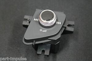 Audi-Q7-4M-Bedienteil-Controller-Lautstaerkeregler-Regler-ON-OFF-Knopf-4M1919616B