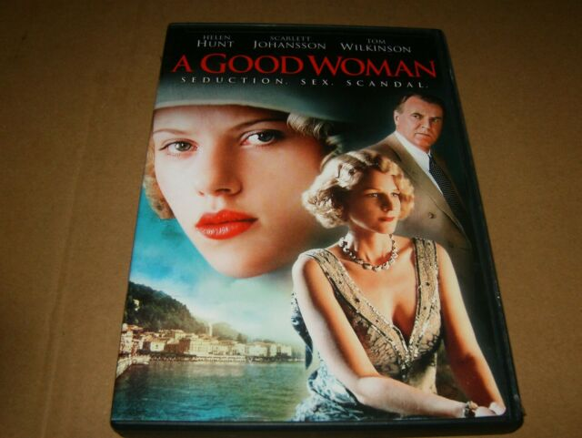 A Good Woman Starring Helen Hunt & Scarlett Johansson DVD,2006, Used.