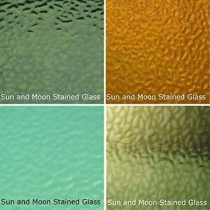 GREEN Wissmach Stained Glass Sheet Pack