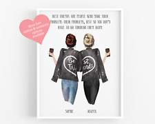 Personalised Friends Gift//Best Friends Present//Sister//Mum//Aunt PRINT UNFRAMED