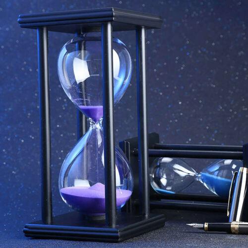 30Minutes Retrore Hourglass Counter Sandglass Sand Timer Clock Decoration US
