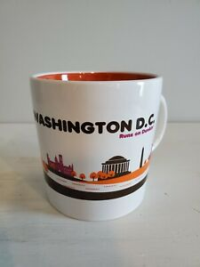 Dunkin Donuts Mug Washington DC Runs On Coffee Cup 2012 Destination Series 16oz