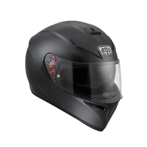 AGV K3 SV Solid Casco Integrale Moto Matt Black Pinlock 2018 Full Face