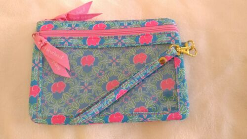 Simply southern wristlet with pink elephants