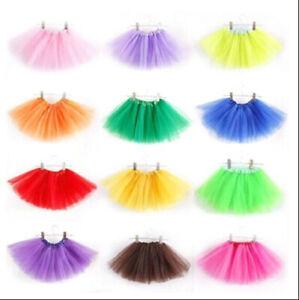 Kids-Girls-3-Layer-Tutu-Ballet-Dance-Dress-Skirt-Tulle-Chiffon-Pettiskirt