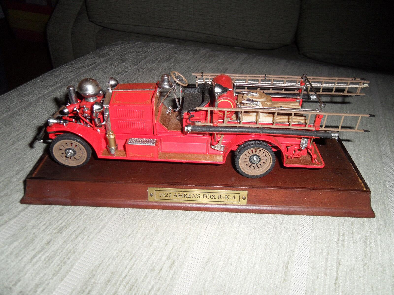 Envío rápido y el mejor servicio Franklin Mint escala R11TL77 el 1922 Ahrens Fox Fox Fox R-K-4 Pumper, Buen Estado   moda