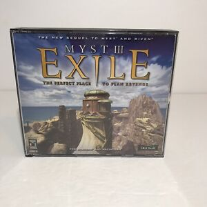 Myst III: Exile (PC/Mac, 2001) Computer Video Game