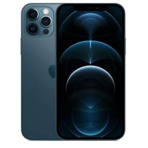 "APPLE IPHONE 12 PRO 128GB PACIFIC BLUE 5G DISPLAY 6.1"" iOS 14 Wi-Fi HOTSPOT"