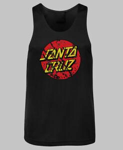 Santa-Cruz-Distressed-Dot-Logo-Singlet