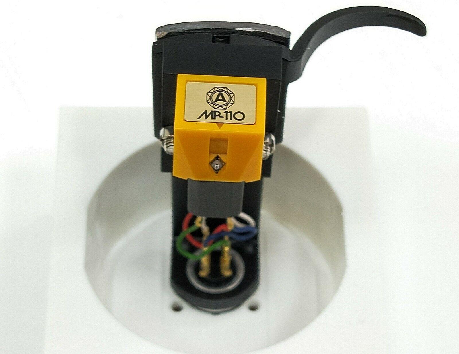 Nagaoka MP-110 Phono Stereo Cartridge mit Kopfschuss in ausgezeichneter Kondition