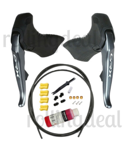Shimano GRX Di2 RX815 2x11 Electric Upgrade Groupset EW-RS910 w//o Calipers