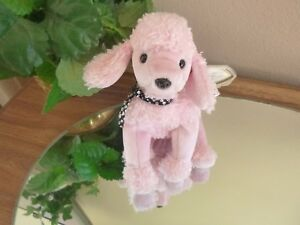 ed608c5ab43 BRIGITTE the Pink Poodle TY BEANIE BABY   Plush stuffed collectible ...