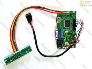HDMI+VGA LCD Controller Driver Board Kit for 1920X1080 M215HW01 V0 monitor panel
