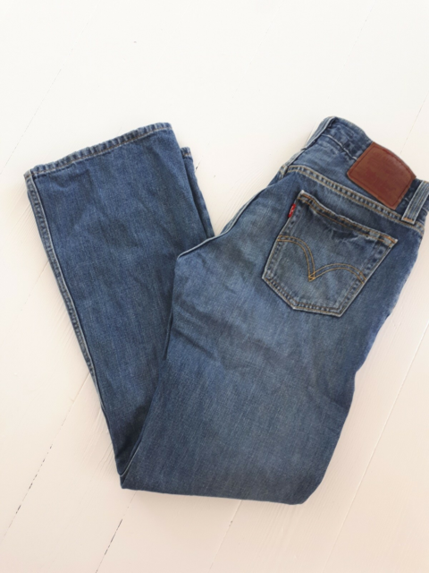 Jeans, Levis, str. 30,  Denim blå,  Denim,  God men brugt,…