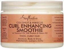 Shea Moisture Organic Curl Enhancing Smoothie Coconut & Hibiscus 12 oz 340g