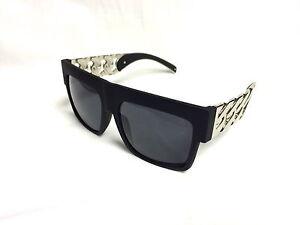 fa15bbf0258 Image is loading Kim-Kardashian-Sunglasses-NEW-MODEL-Black-silver-metal-