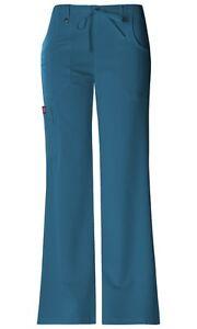 3bf65876a1b Dickies Scrubs Xtreme Stretch Cargo Scrub Pants 82011 Caribbean Blue ...